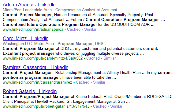 LinkedIn_X_Ray_Search_using_Googles_Asterisk_Wildcard