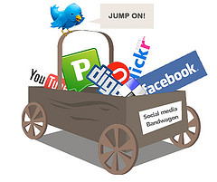 Social Media Bandwagon by Matt Hamm via Creative Commons