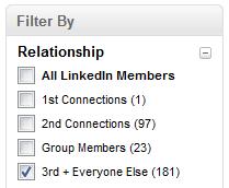 LinkedIn_Filter_By_Relationship