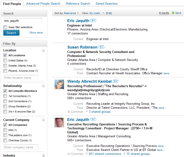 Where Do You Rank In LinkedIn's Search Results? | Boolean