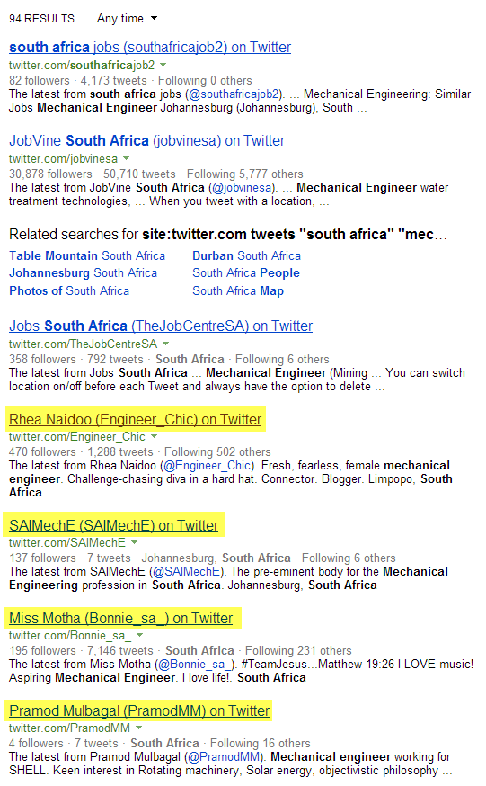 How to Find People to Recruit on Twitter with Google & Bing