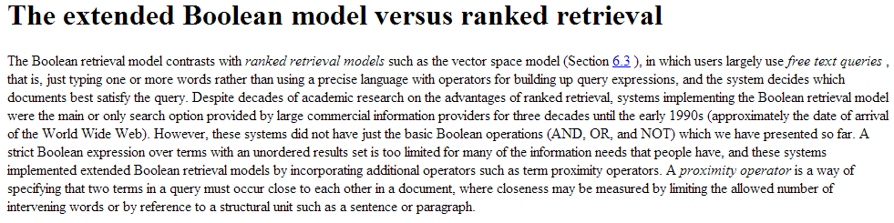 Extended Boolean Stanford