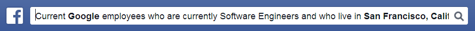 Facebook Graph Search Tiresome