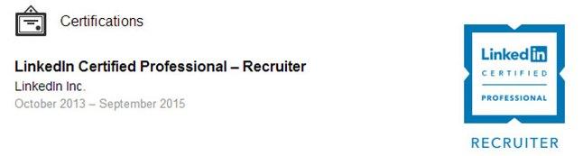 LinkedIn Certification-Badge