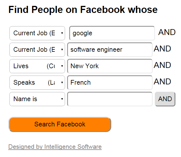 Shane McCusker Facebook Graph Search