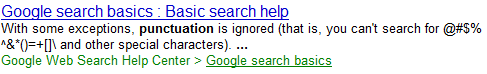 Google_Missing_Punctuation_Search_Help