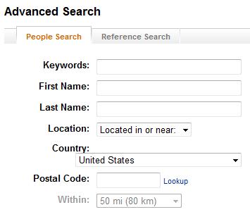 LinkedIn Search Sort7