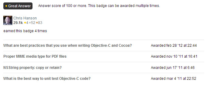 Stack Overflow 4 Great Answers