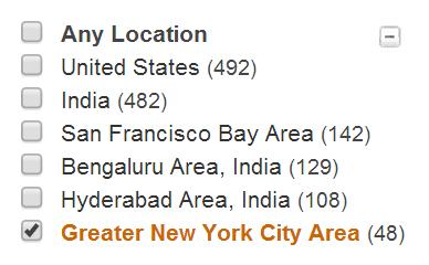 LinkedIn Recruiter Sqoop Pig Hive New York