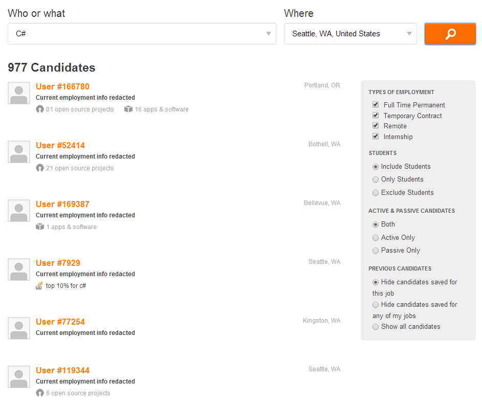 Stack Overflow Search Interface