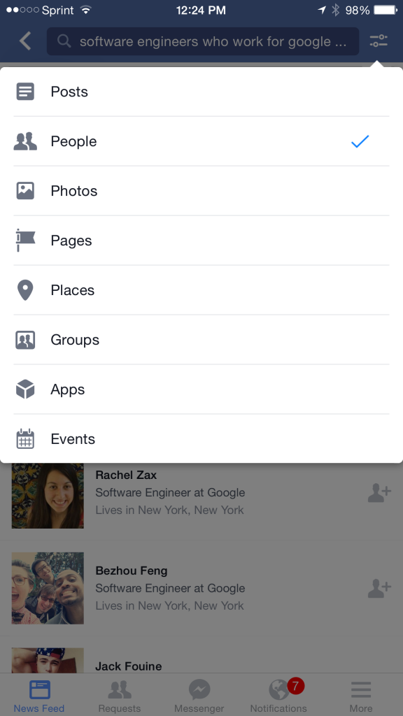 Facebook Graph Search Mobile 3